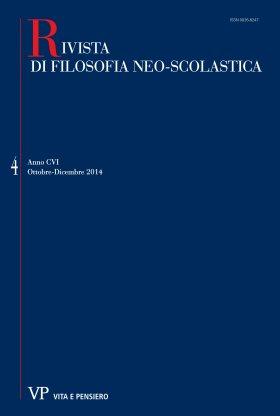 RIVISTA DI FILOSOFIA NEO-SCOLASTICA - 2014 - 4